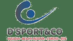 ligue squash PDL logo D'Sport & Co Nantes