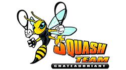logo Squash Team Chateaubriant