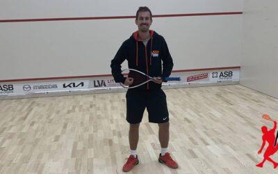 Hugo Gallet : le nouvel entraîneur de Squash de RedZone Challans !